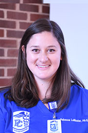Rebecca LeMaster | Physicians Assistant Doctoral Program | Presbyterian College | Clinton SC