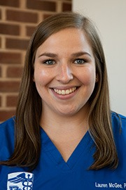Lauren McGee Physician Assistant Student Presbyterian College